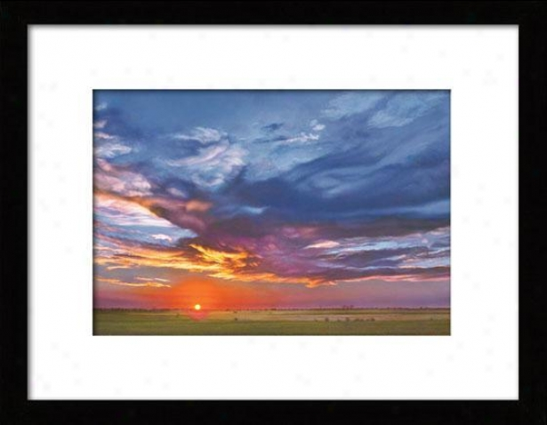 """nw Yewr's Day Framed Wall Art - 23""""hx33""""w, Matted Black"""