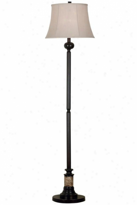 """newbury Floor Lamp - 61""""h, Bronze"""