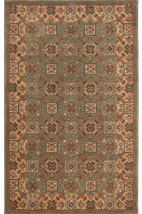 Newhaven Area Rug - 6' All over, Sage