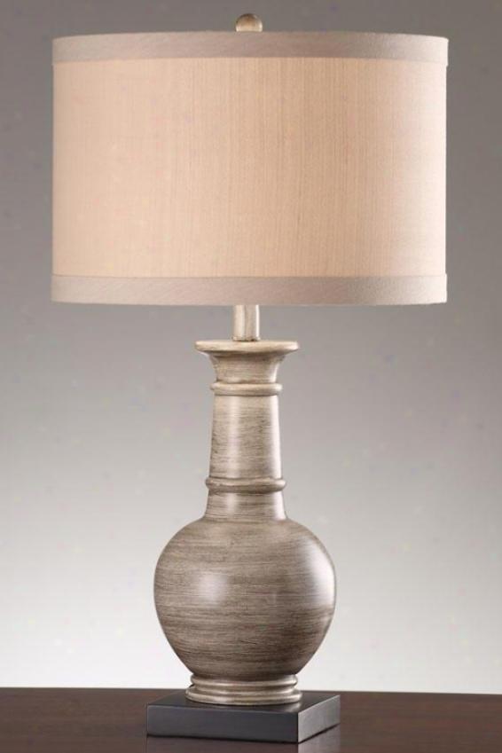 """""""nia Table Lamp - 28""""""""h, Gray"""""""