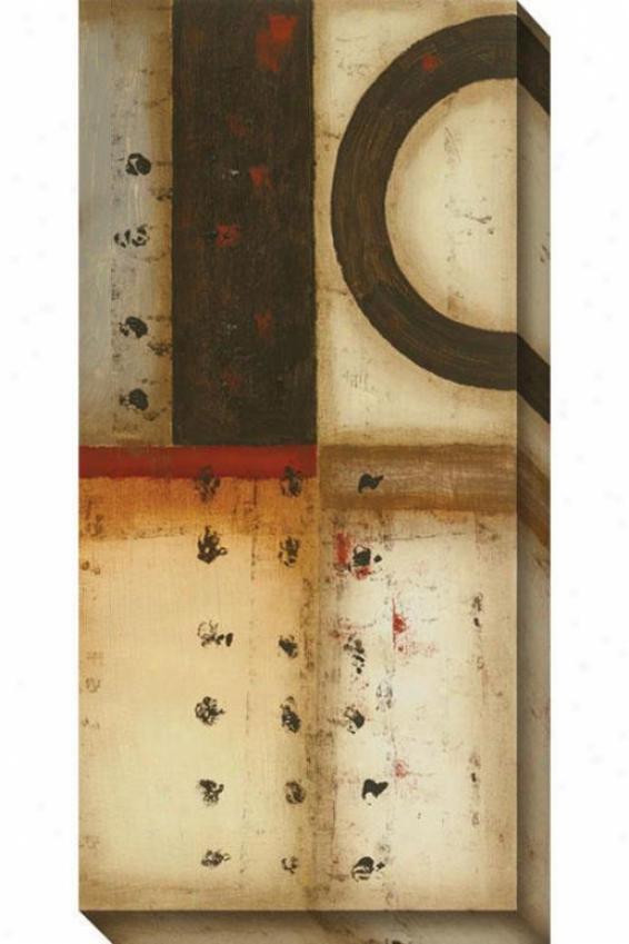 No Secrets I Cnvas Wall Art - I, Beige
