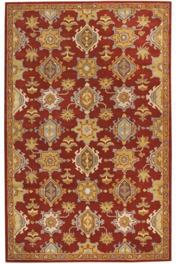 Nobility Rug - 4'x6', Red