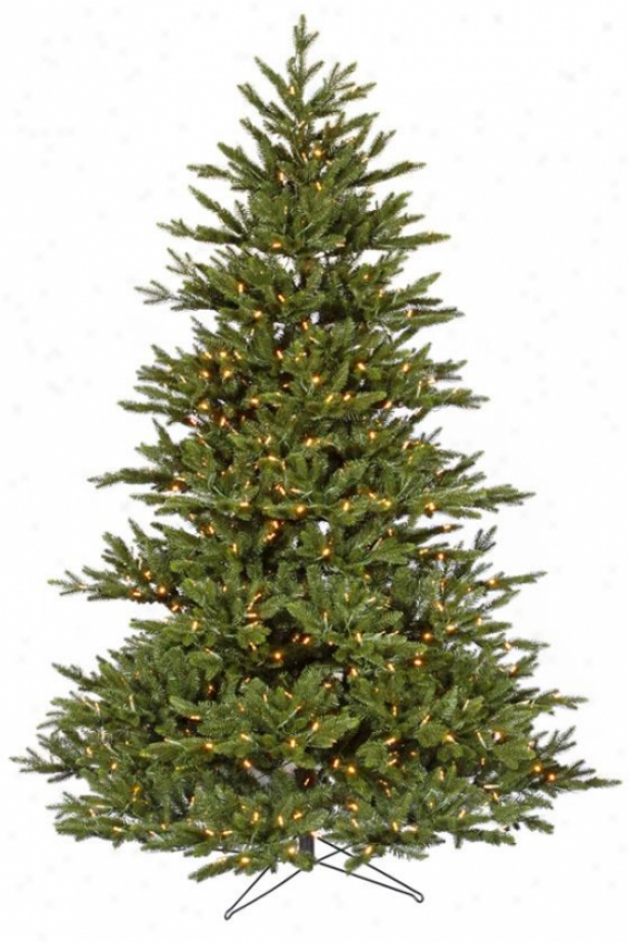 """noble Led Fir Tree - 78""""hx57""""w, White"""
