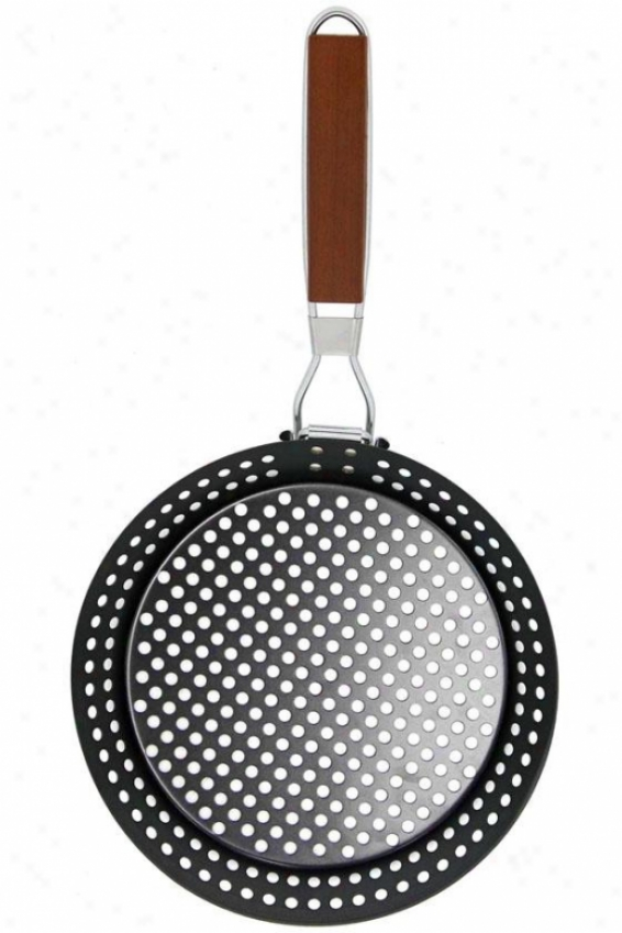 Non-stick Grilling Skillet - 12.83hx11.77w,, Brown Forest
