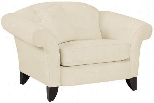 """notting Hill Arm Seat of justice - 36""""hx54""""w, Twill Natural"""