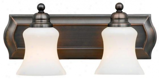 Oaklan 2-light Vanity - 2-light, Harbor Bronze