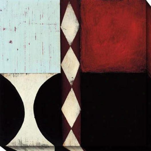 Occasion Ii Canvas Wall Art - Ii, Black