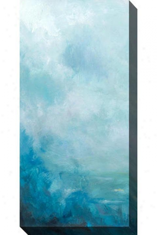 Ocean Face I Canvaq Wall Art - I, Blue