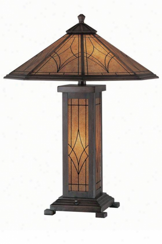 """odessa Table Lamp - 25""""h X 19.75""""w, Bronze"""