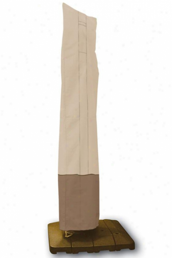 Offset Umbrella Cover - One Size, Pbbl/earth/bark