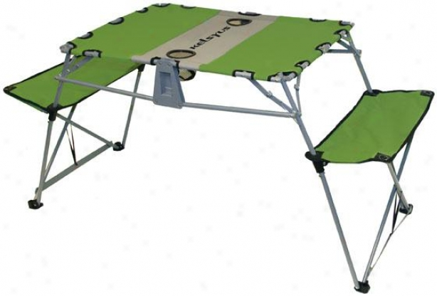 Ogo Table - 28hx25.5wx58.5d, Green