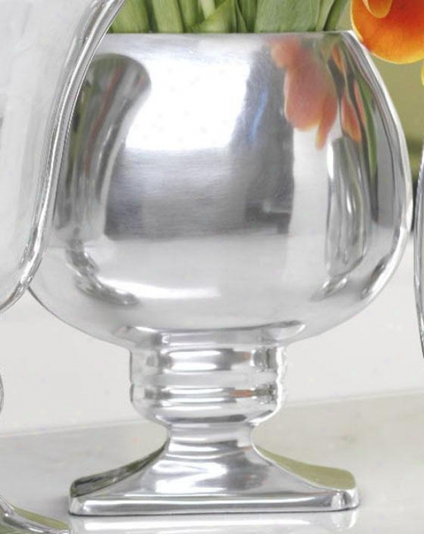 Olympia Vase - Olgmpia, Polisshed Silver
