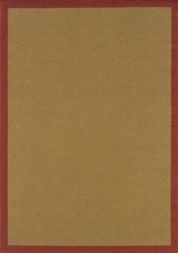 """""""oriental Weavers Boucle Ii Area Rug - 2'3""""""""x7'8"""""""" Rnnr, Red"""""""