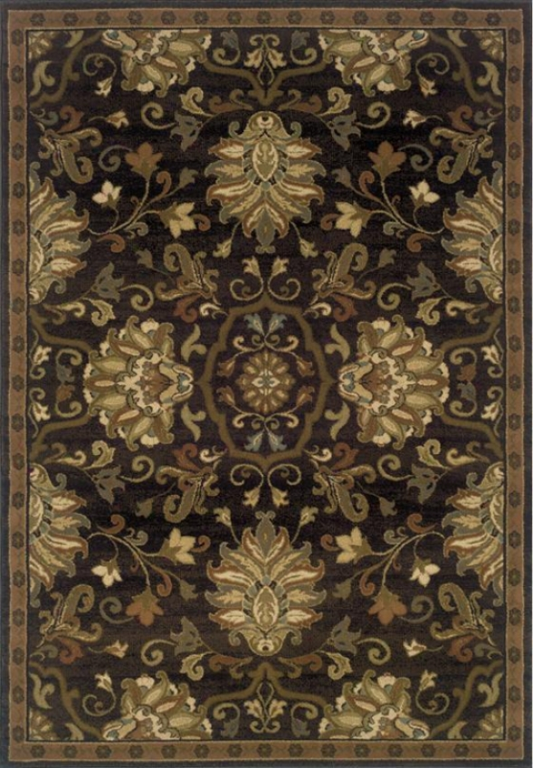"""orietnal Weavers Eastgate Afea Rug - 5'3""""x7'6"""", Coffee Brown"""