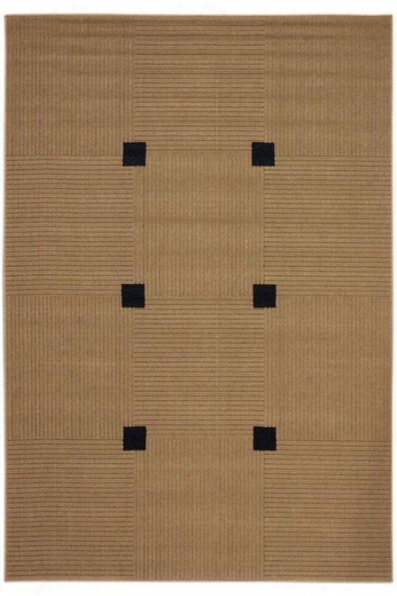 """oriental Weavers Hana I Area Rug - 3'7""""x5'6"""", Beige"""