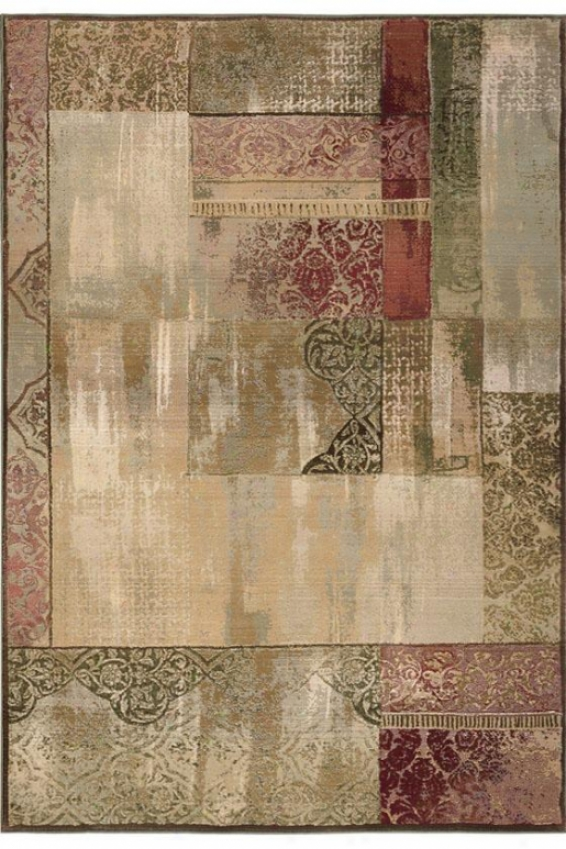 """oriental Weavers New Country Area Rug - 4'x5'9"""", Beie"""