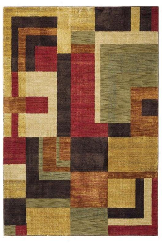 """oriental Weavers Overleigh Area Rug - 1'11""""x3'3"""", Multi"""