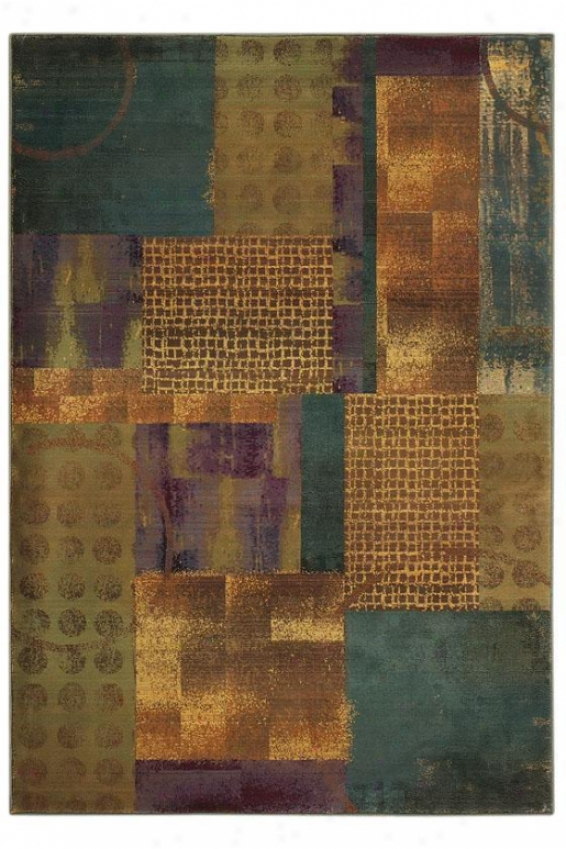 """oriental Weavers Retreat Area Rug - 2'3""""x7'6""""runner, Brown"""