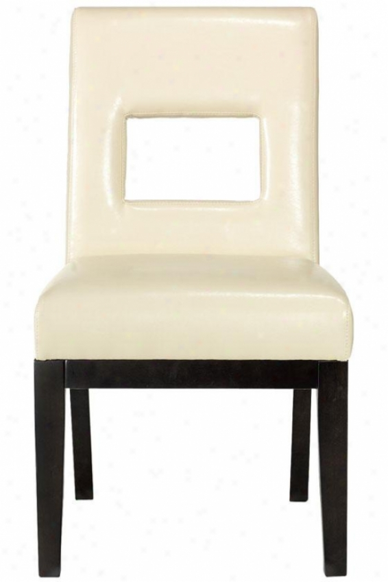 """oscar Dining Chair - 36.5""""hx220""""w, Crean"""