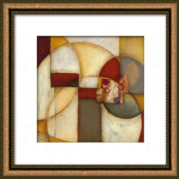 Outer Reaches I Framed Wall Art - I, Matted Gold