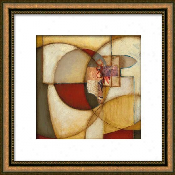 Outer Reaches Ii Framed Wall Trade - Ii, Matted Gold