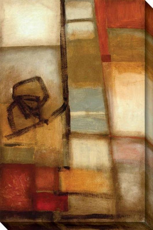 Outside Influences Ii Canvas Wall Art - Ii, Earthtones