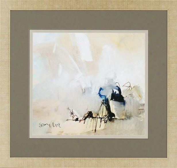 """overjoyed Iii Wall Art - 33""""hx35""""w, White"""