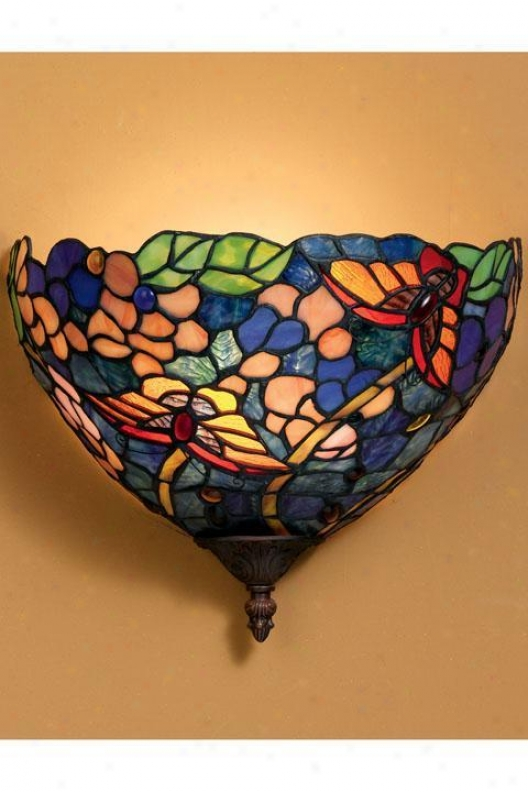Oyster Bay Butterflies Wall Sconce - Wall Sconce, Multi