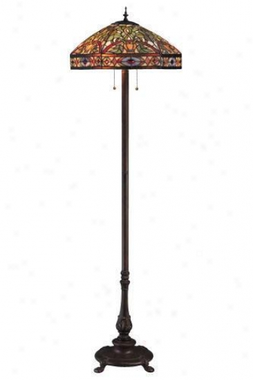 Oyster Bay Conservatory Floor Lamp - Floor, Multi