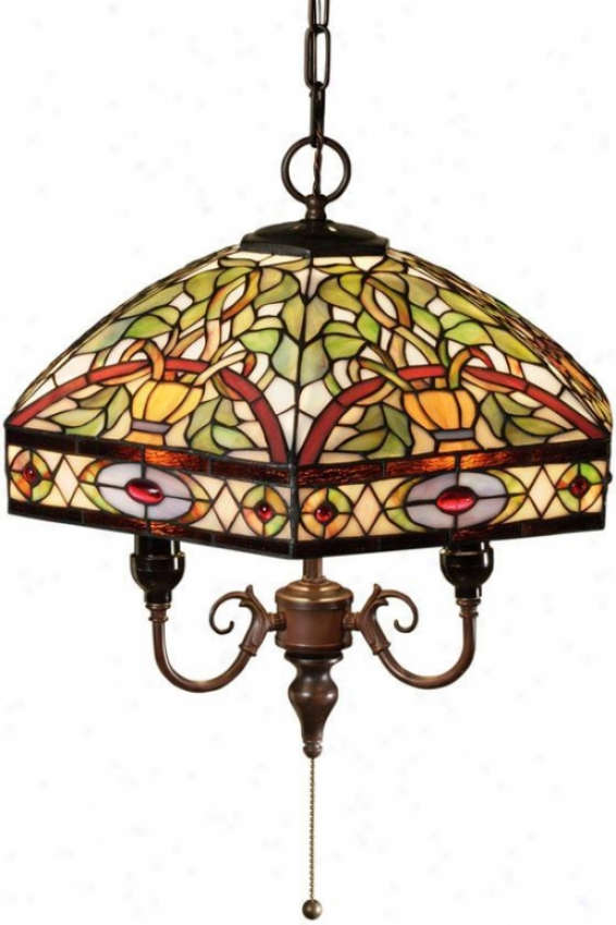 Oyster Bay Conservatory Pendant - Pendant Down, Multi