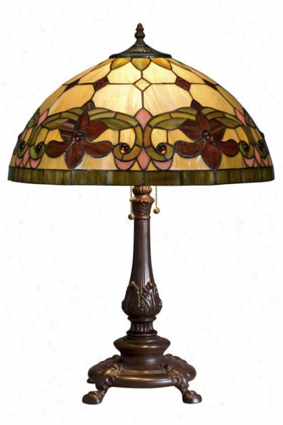 Oyster Bay Solstice Medium Table Lamp - Medium Table, Multi