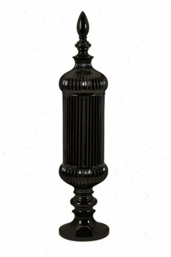 Ozborne Urn - Small, Black