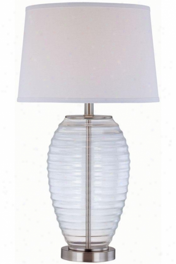 """""""Spectacle Table Lamp - 15""""""""x82"""""""", Clear"""""""