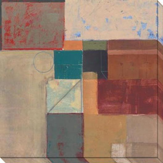 Psnelyard Ii Canvas Wall Art - Ii, Multi