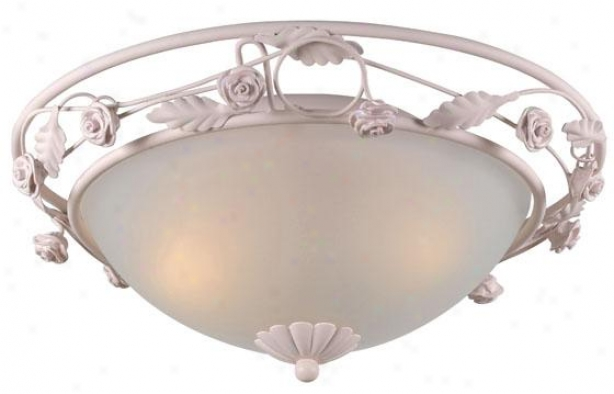 Paris Flea Market Flush Mount - 2-light, Blush