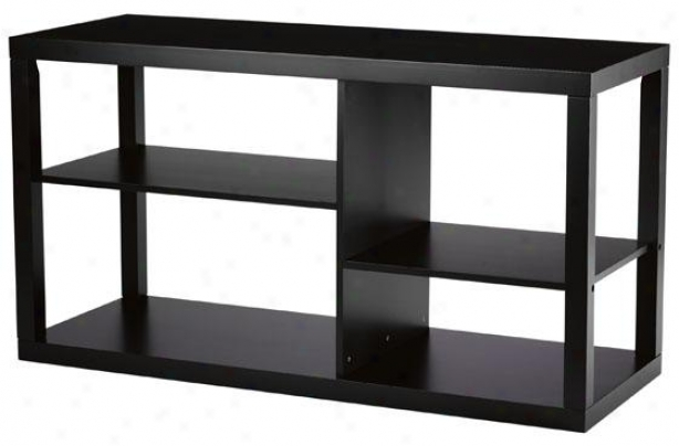 """parsons Media Cabinet - 26""""hx48""""w, Black"""