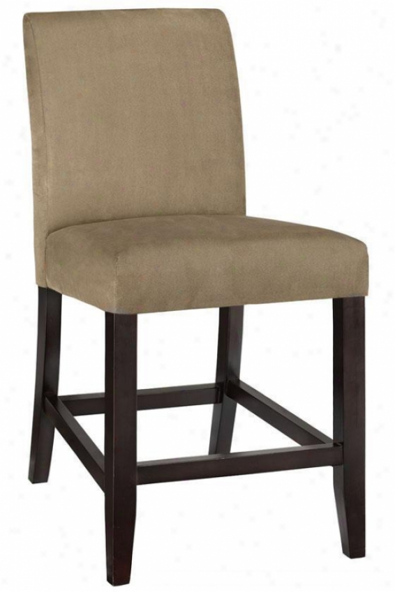 """parsons Slipcover Counter Stool - 42.5""""hx20""""w, Beige"""