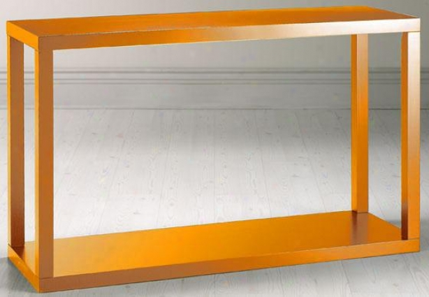 """parsons Sofa Console Table - 30""""hx48""""w, Orange"""