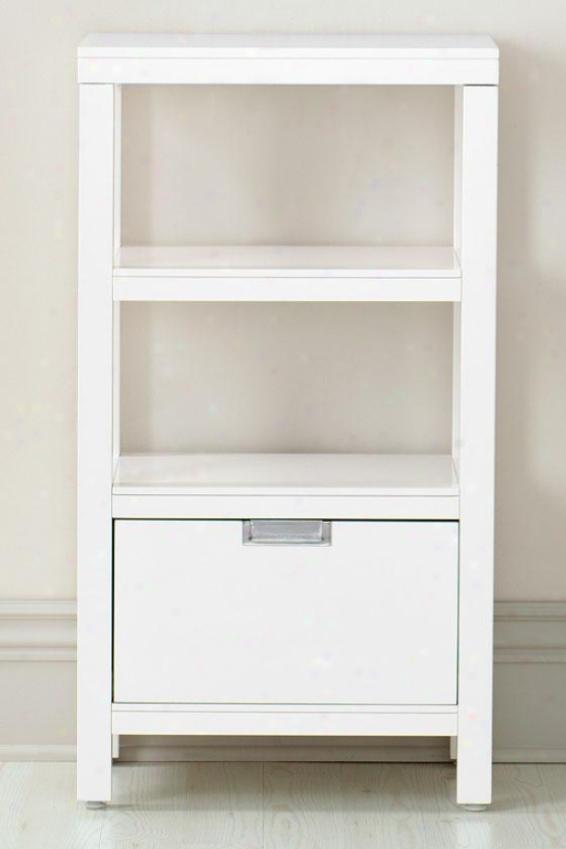 """""""parsons Storage Shelf - 36""""""""hx0""""""""w, White"""""""