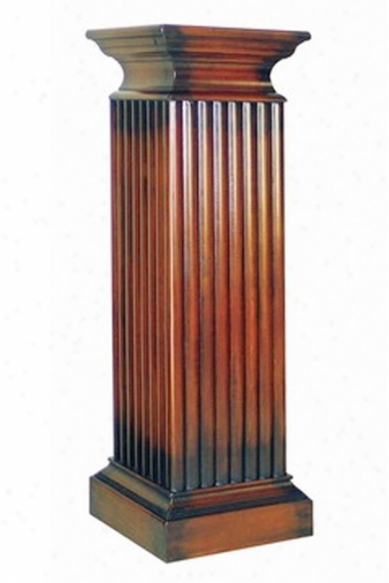 Parthenon Pedestal - Comprehensive, Brown