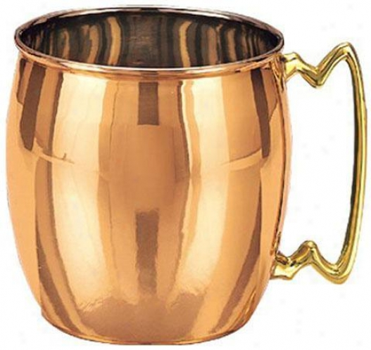 """partytime Copper Moscow Hybrid Mug - 4""""h, Copper"""