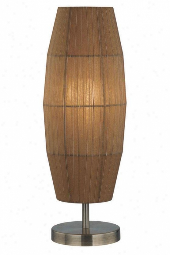 """parvati Table Lamp - 20.5""""h X 6""""w, Copper"""