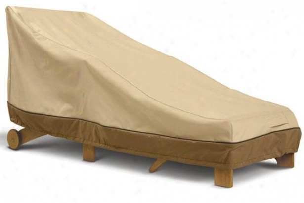 Patio Day Chaise Cover - Larye, Pbbl/earth/bark