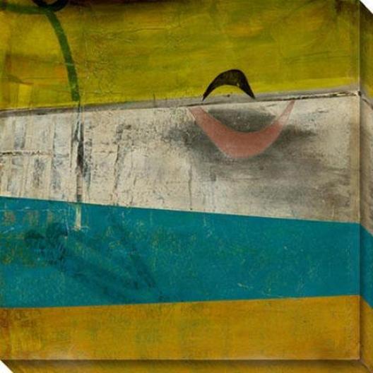 Peculiar Disposition Ii Canvas Wall Art - Ii, Green