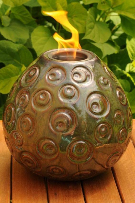 Pele Firepot I - Large, Green