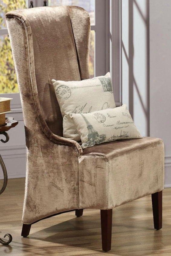 """phillips High-back Chair - 30""""hx18""""w, Bronze"""