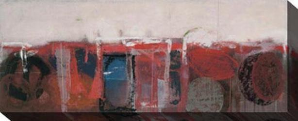 """pholon Canvas Wall Art - 48""""hx18""""w, White"""