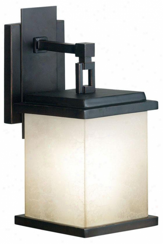 Piedmont Outdolr Lantern - Small, Oil Rubbed Bronze