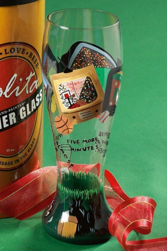 Plsner Glass - One Size, After The Game
