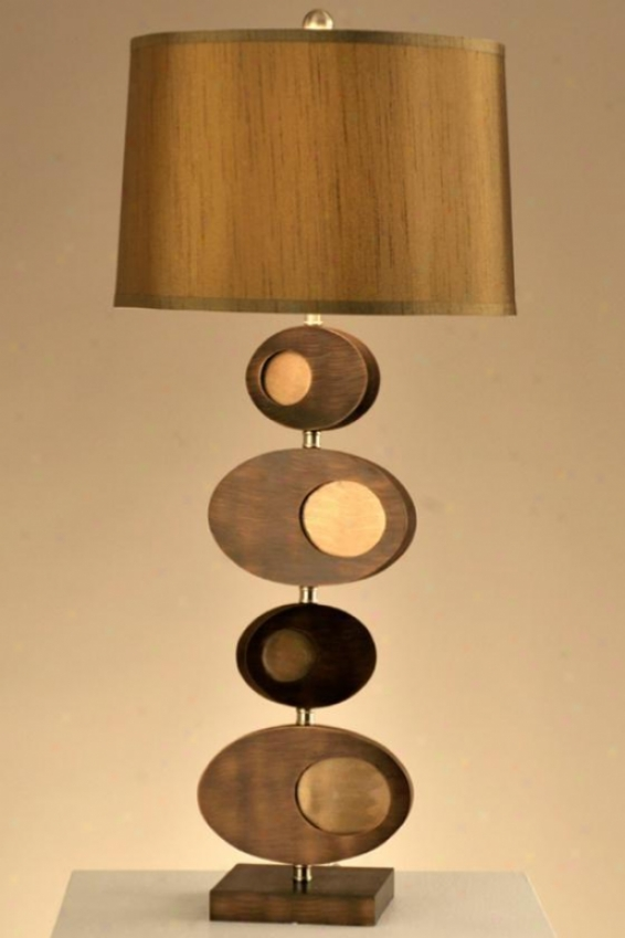 """pimento Table Lamp - 30""""h, Bronze"""